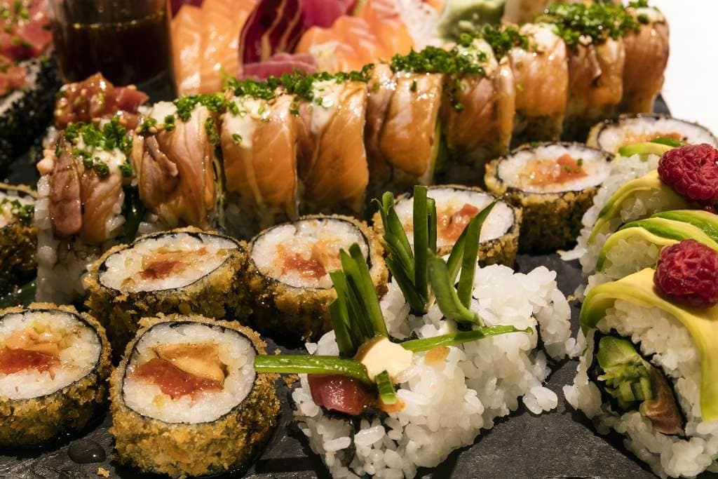 sushi para eventos