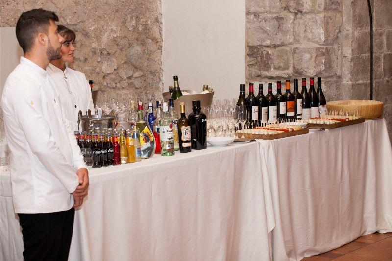 contratar camareros para eventos