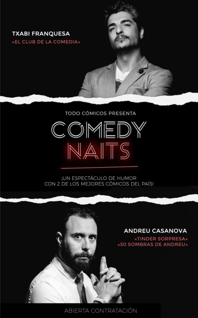 contratar comedy naits
