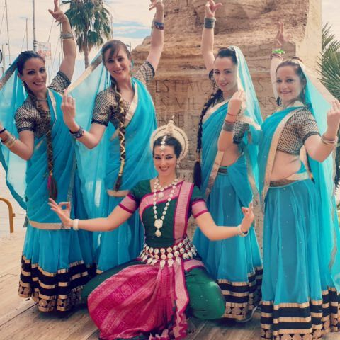 Fiesta temática Bollywood