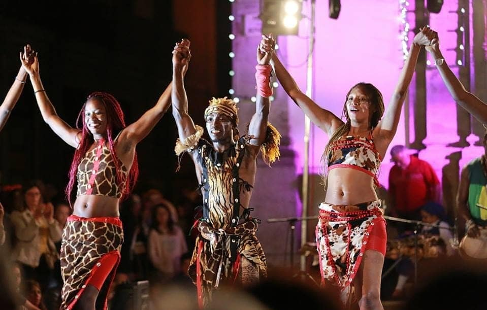 Fiesta temática Africana