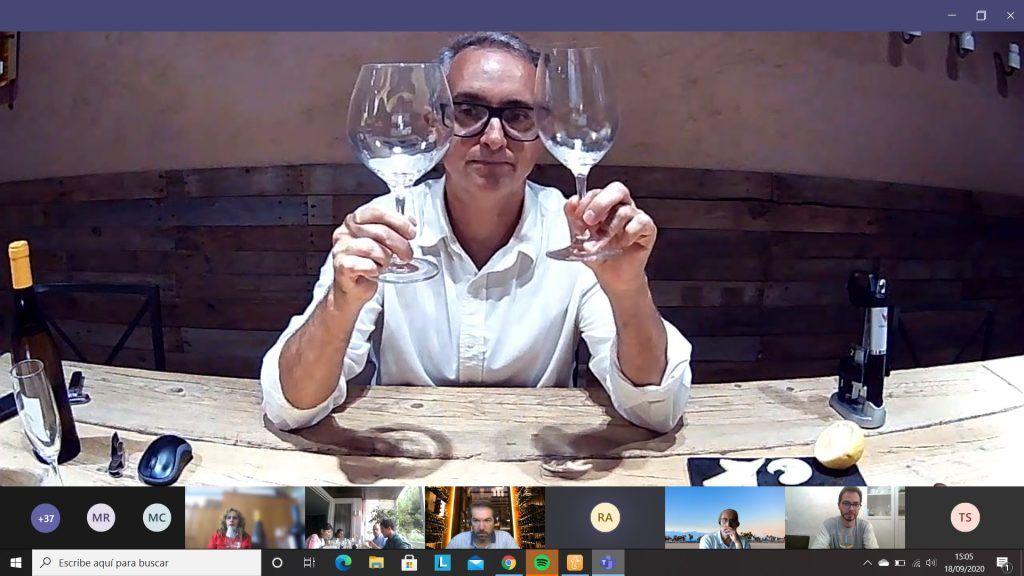 team building cata de vinos online