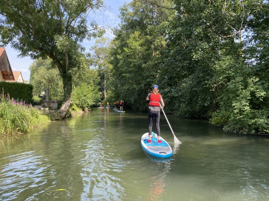 Paddle surf por el río