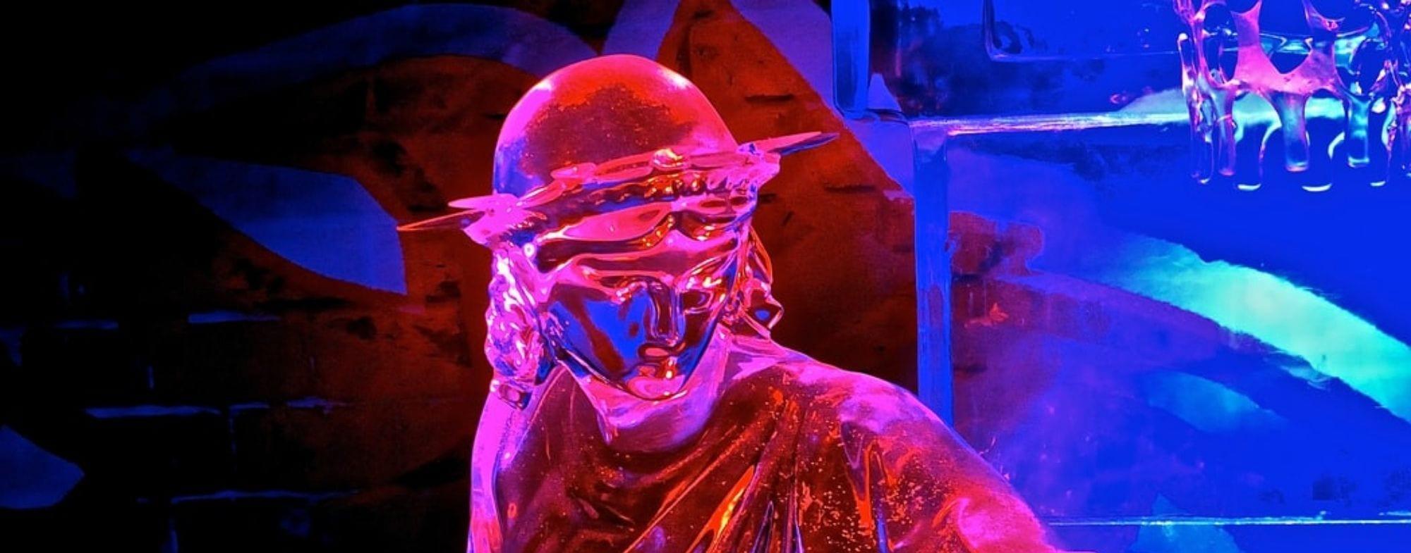 Taller de esculturas de hielo